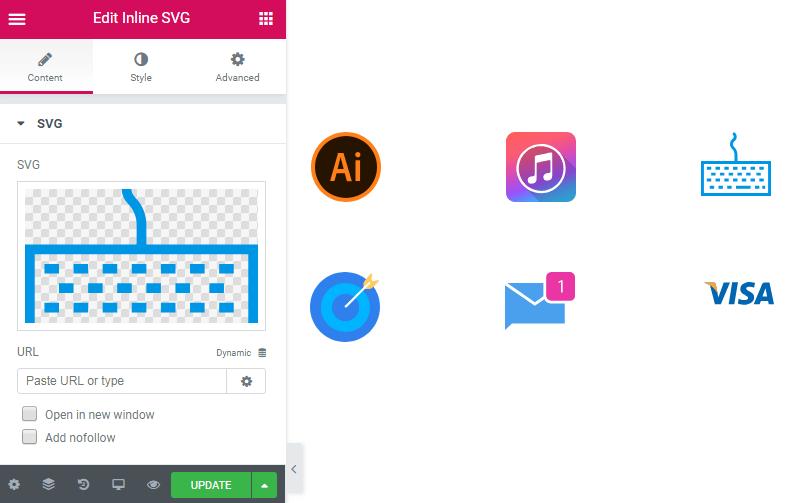 SVG block