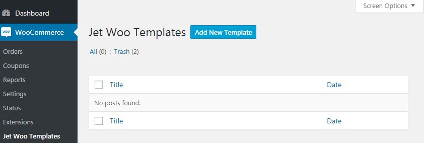 jetwootemplates setup