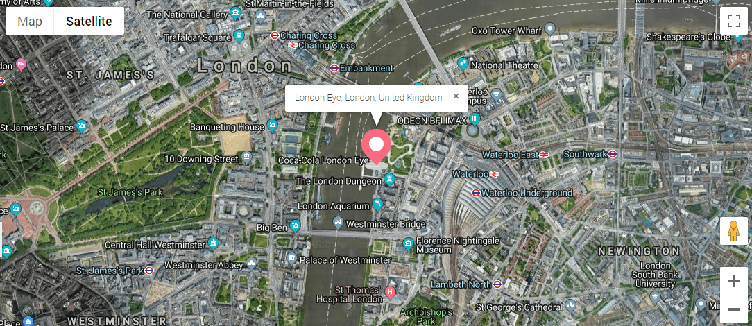 JetElements | How to add Google map with pinned locations on australia map, georgia map, scotland map, england map, downing street on a map, ireland map, river thames map, clarence house street map, carlton house terrace map, buckingham palace map, oxford street map, tower bridge map, carnaby street map, united kingdom map, wales map, eton college map, winston churchill map, great britain map, street address map, covent garden map,