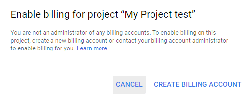 Google Map Platform Billing