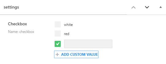 Checkbox meta field