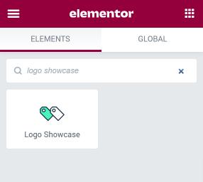 Logo Showcase widget