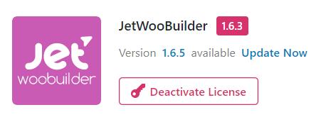 JetWooBuilder update notification