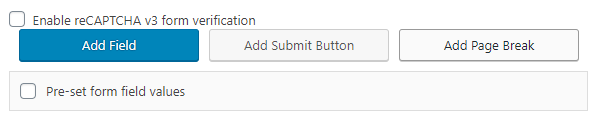 Add Page Break button