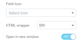 Field Icon option