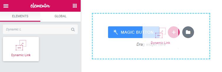 Dynamic Link widget