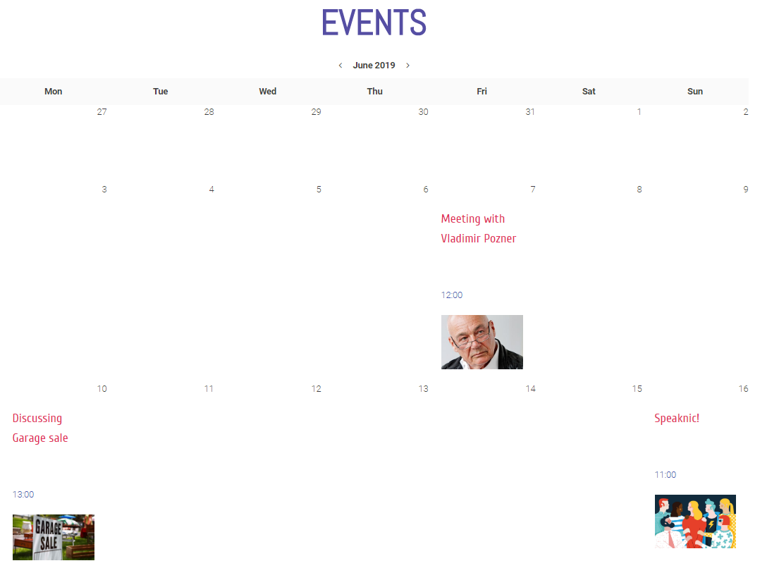 listing-calendar-on-the-page