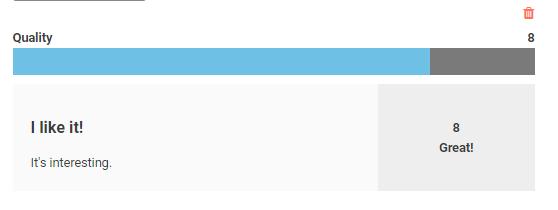 JetReview widget of JetReviews plugin