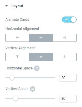 Vertical Timeline widget layout