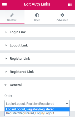 auth-links-general-settings
