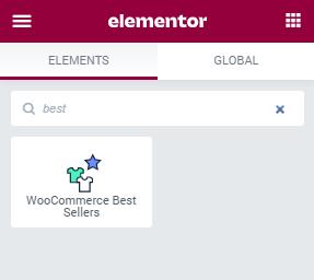 WooCommerce Best Sellers widget