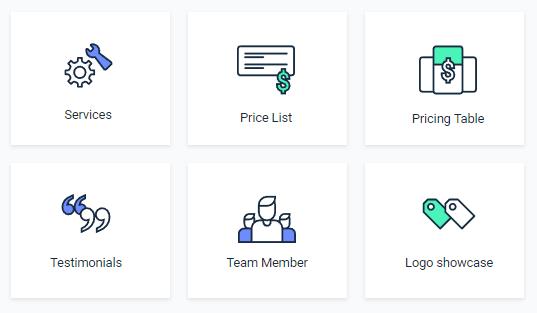 JetElements Business widgets for Elementor