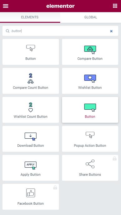 Button widget