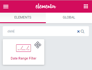Date Range Filter dropping to the page