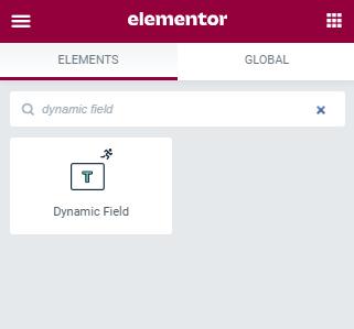 dynamic field widget
