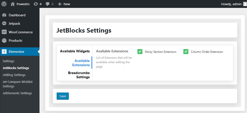 JetBlocks Extensions