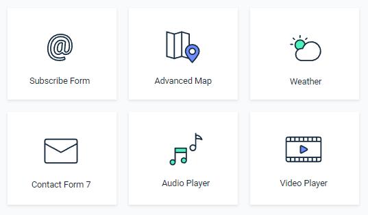 JetElements integration widgets for Elementor