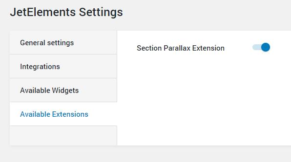 JetElements parallax effect enabling