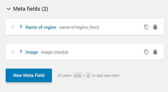 adding new meta fields