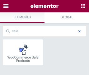 WooCommerce Sale Products widget