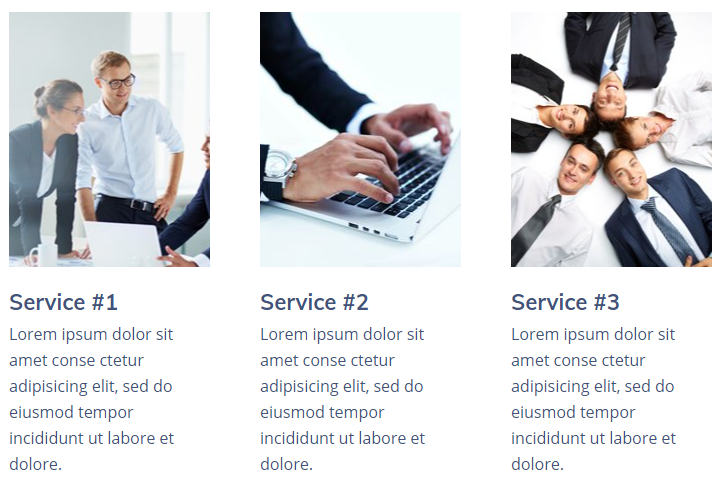 Services example