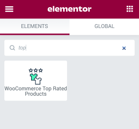 WooCommerce Top Rated Products widget