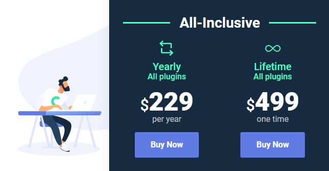 All Inclusive Lifetime package