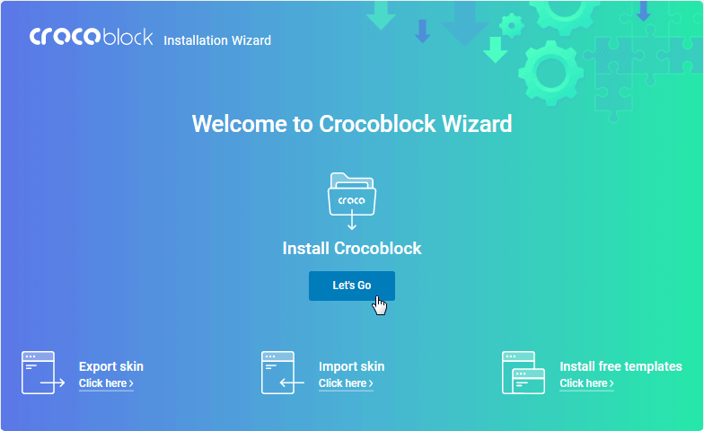 Welcome to Crocoblock Wizard