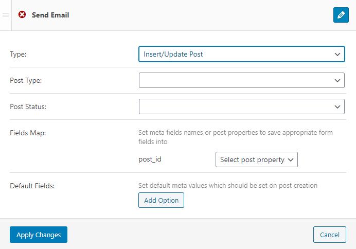 insert/update post notification type