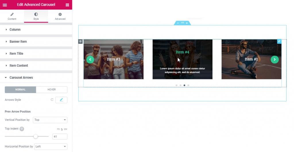 Full Load Level Editor for Smart Posts List widget