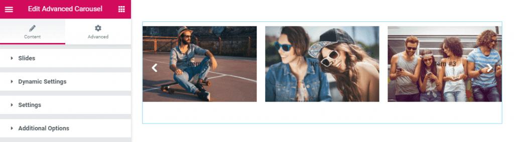 None Load Level Editor for Smart Posts List widget