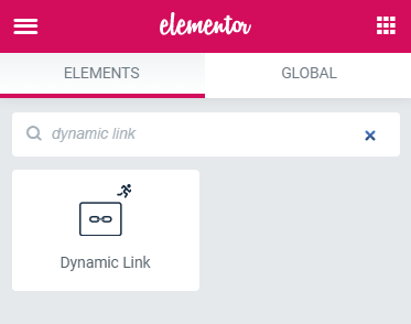 JetEngine Dynamic Link widget