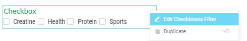 edit the checkboxes widget