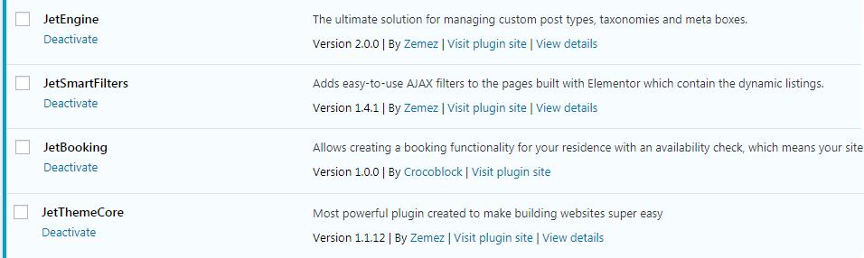 JetBooking plugin