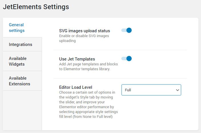 Load Level Editor in WP Dashboard