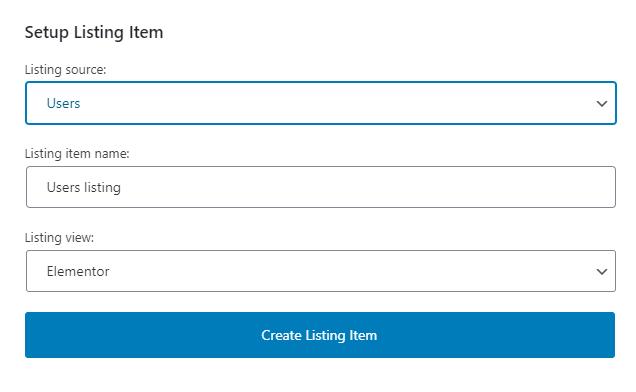 adding new listing