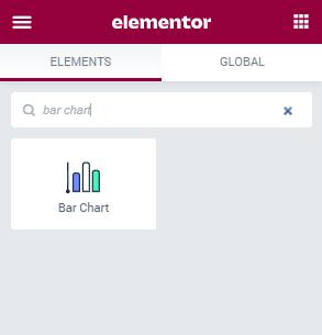 Bar Chart widget