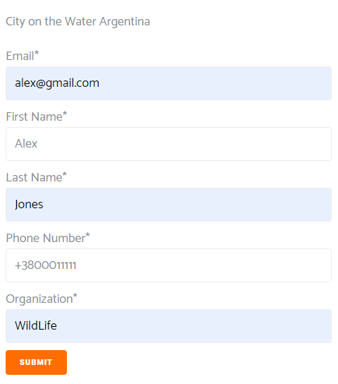 From frontend submission