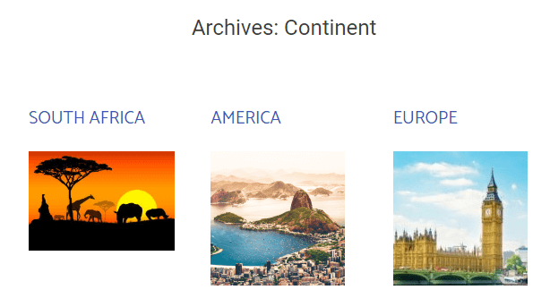 posts archive updated