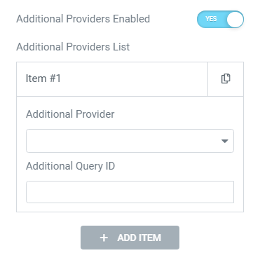 additional providers option enabled