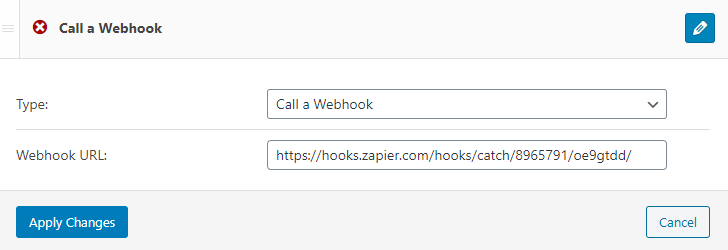 webhook notification