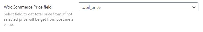 woocommerce price field