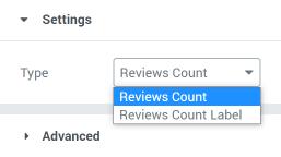 title reviews dynamic tag settings block