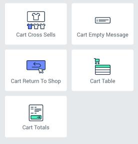 Cart widgets