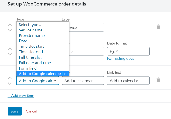 wocommerce add to calendar link