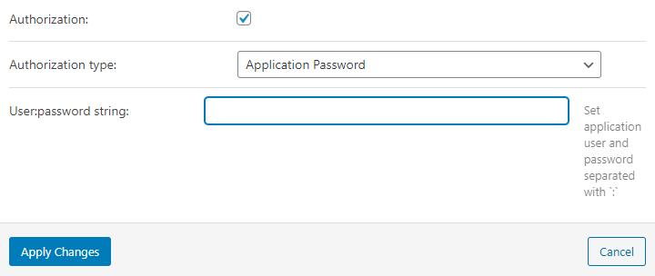 form authorization