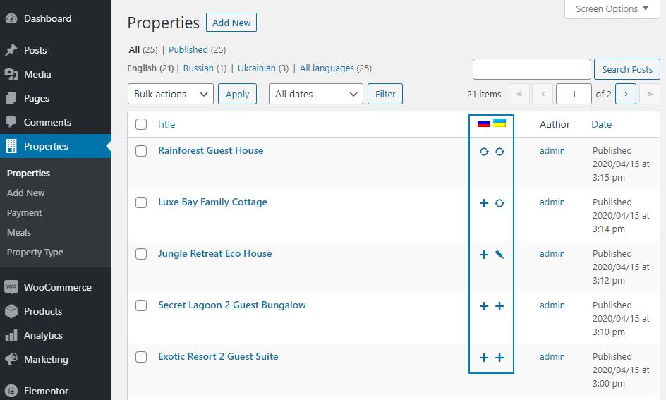 properties post types translatable