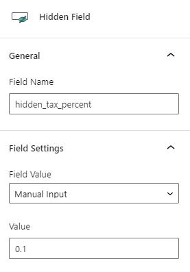 hidden field values