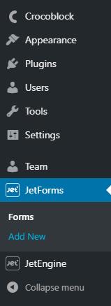 adding new form