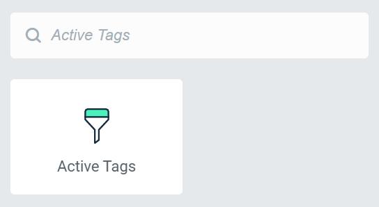 active tags widget